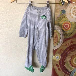 9 month dinosaur onesie